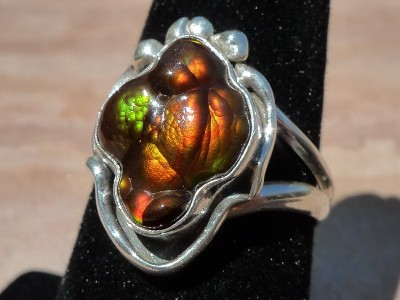 Image Fire Agate Ring